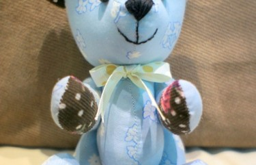 BeeHum personalize handmade teddy bear