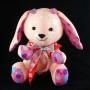 Custom handmade bunny plush design