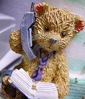 Teddy_On_Phone