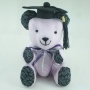 Mortar board for graduation plush toy
