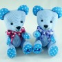 Teddy Bear plush toy. BeeHum personalized teddy bear for couple
