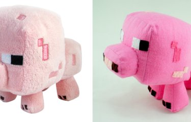 BeeHum custom made minecraft piggy