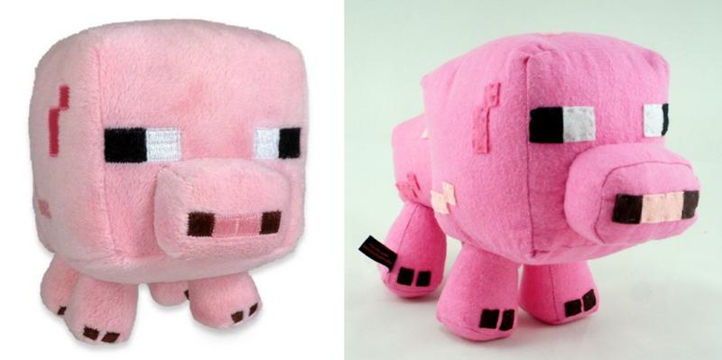 BeeHum custom made minecraft piggy