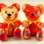Beehum handmade chinese embroidery teddy bear