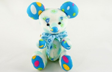 beehum handmade mouse design plush toy