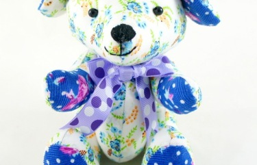 beehum handmade puppy plush toy