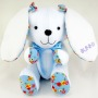 beehum handmade bunny plush toy