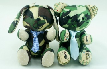 BeeHum army theme plush toy soft toy