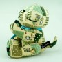Army doggy plush toy soft toy