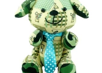 dog soft toy plush toy beehum in-house design