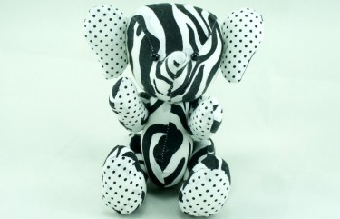 beehum elephant design soft toy plush toy