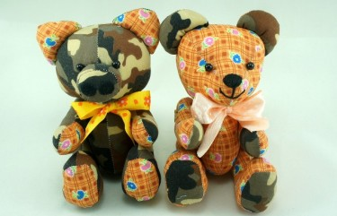 BeeHum teddy and piggy soft toy design