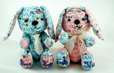 Rabbit Plush Toy for Wedding Couple