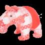 Tapir plush toy, stuffed toy, soft toy