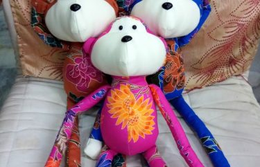 Batik Monkey plush toy