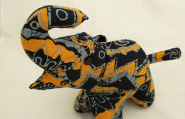 Batik Elephant Plush Toy