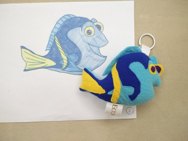 Dory Fish Plush Toy Stuffed Toy